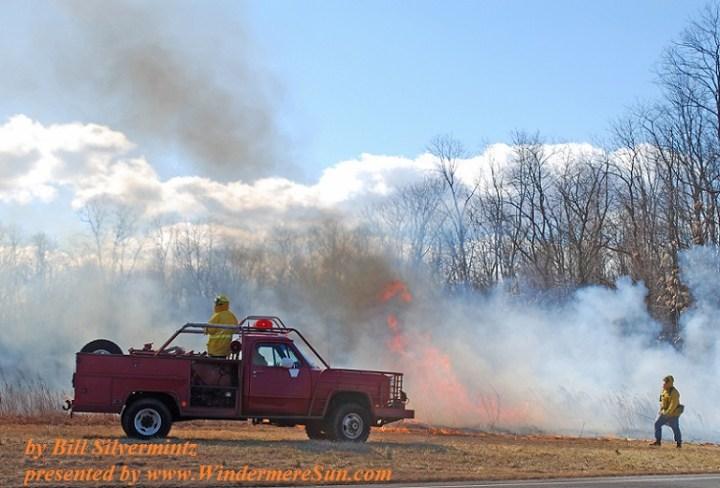 Fire Service Controlled Burn (by Bill Silvermintz)