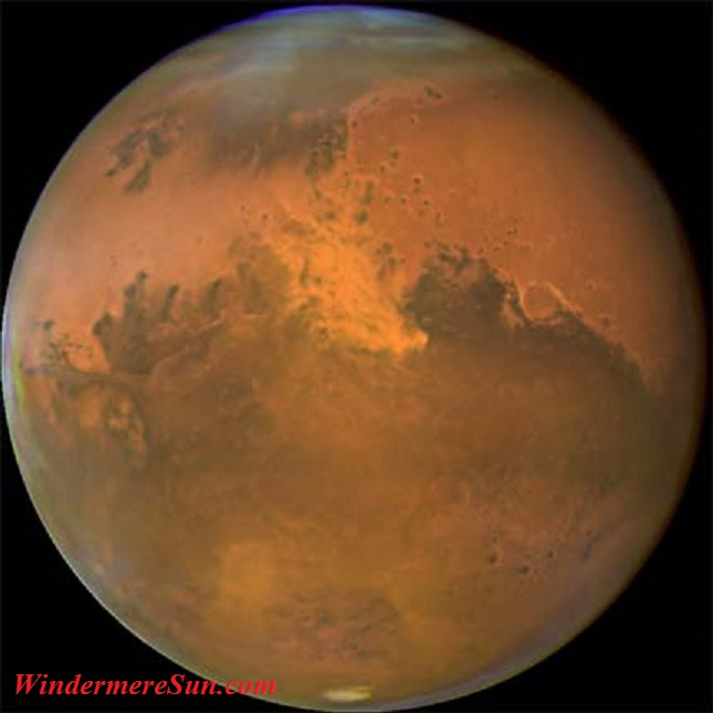 Mars is the fouth planet from the sun final