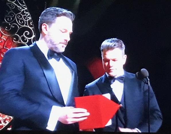 Ben Affleck and Matt Damon final