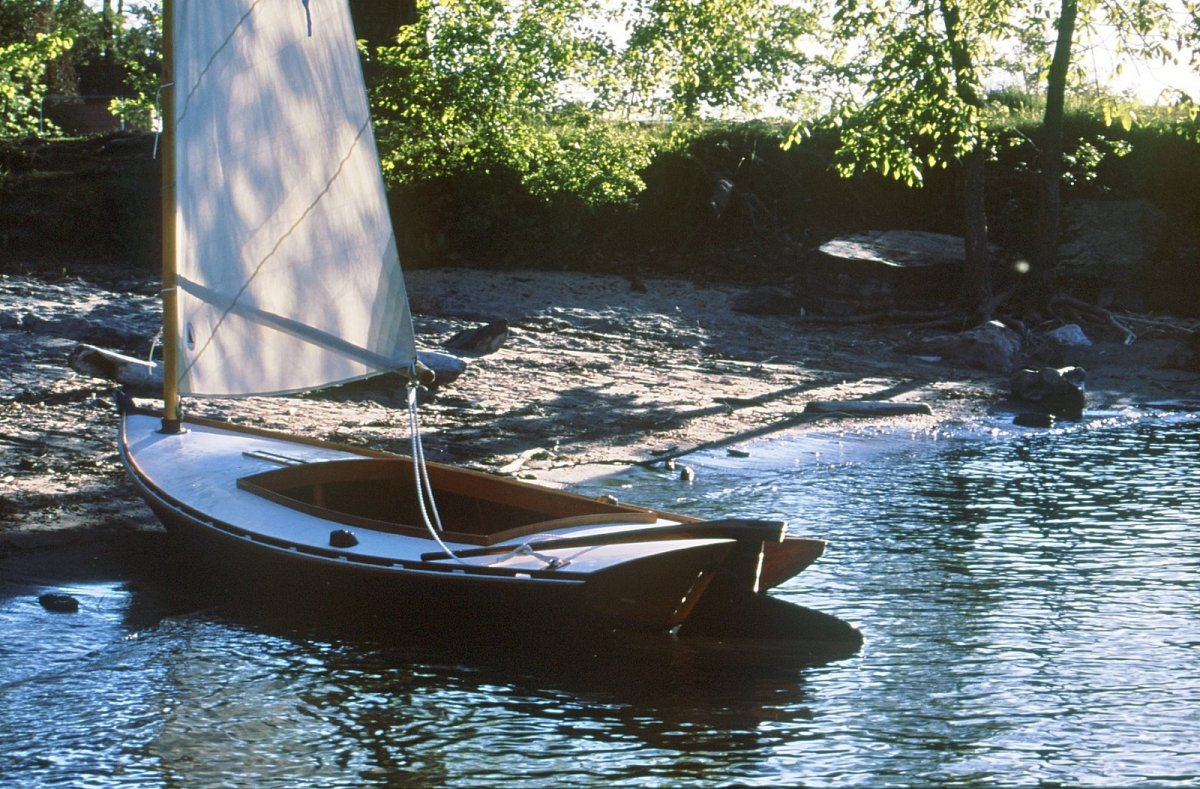 Melonseed Skiff for Sale | Windfall Woodworks