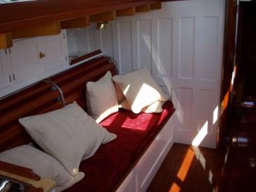 Mashnee interior - benches and storage