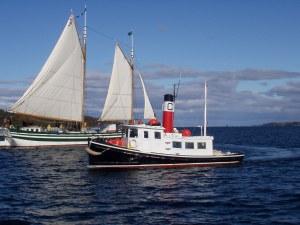 Classic Tugboat - C.L. Churchill