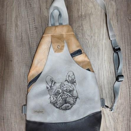 Französische Bulldogge Sling Bag