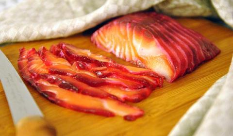 red gravlax recipe