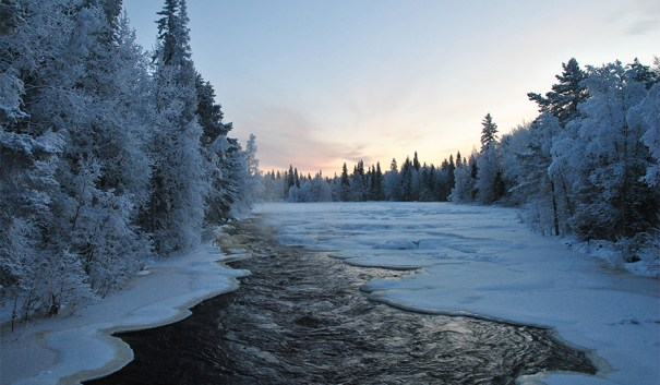Raudanjoki, Nature trails around Rovaniemi