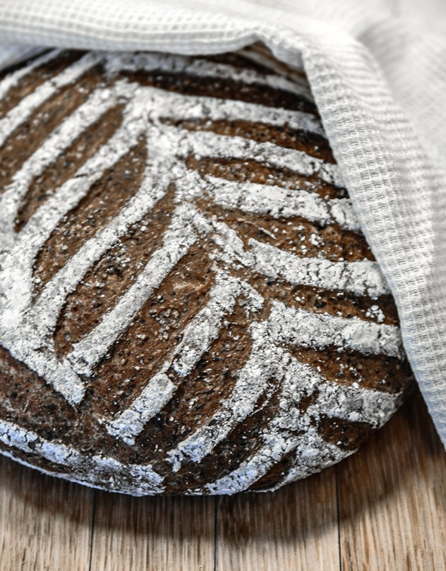 Beer malt bread recipe. Baking with traditional finnish ingredients.