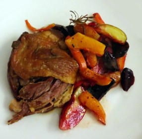 duck with root vegetables recipe