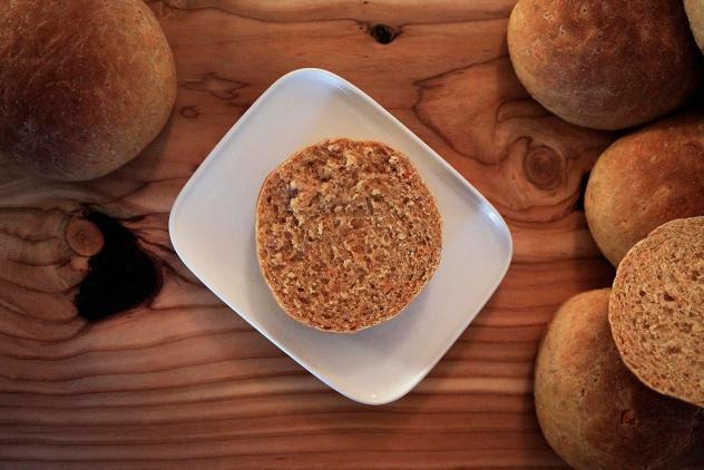 Finnish food: carrot bread rolls