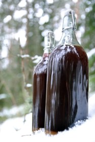 homebeer recipe. Traditional finnish home-made beer