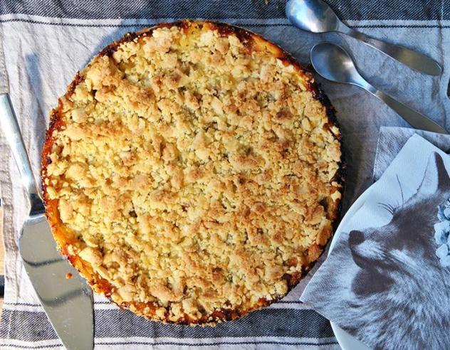 Easy rhubarb pie