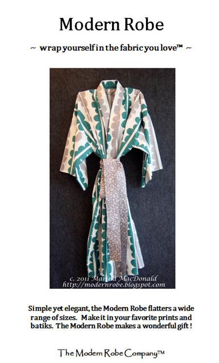 Modern Robe : modern, Modern, Robe,, Company™,, Patterns, Sale,, Windham, Fabrics
