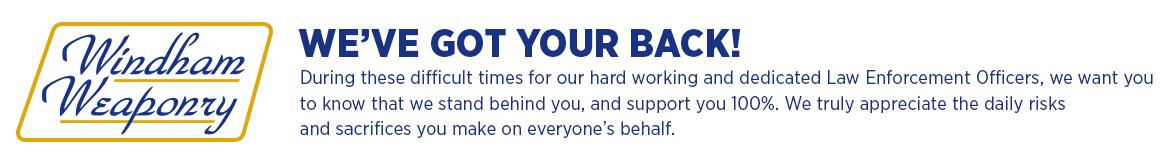 We've got your back!
