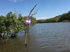 Water Trail Marker