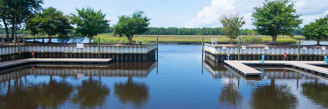 Winding River Plantation Private Marina