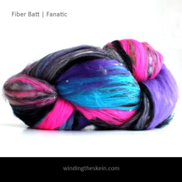 winding the skein, fiber batt, wool, spinning, felting,