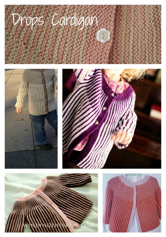 Drops Stripes Sweater