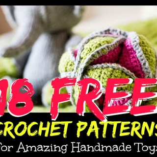 18 Free Crochet Patterns for Amazing Handmade Toys, winding the skein