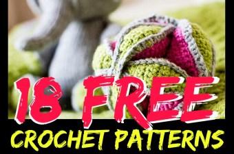 18 Free Crochet Patterns for Amazing Handmade Toys