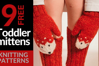 9 Free Toddler Mitten Knitting Patterns