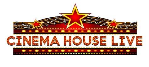 cinema house live logo