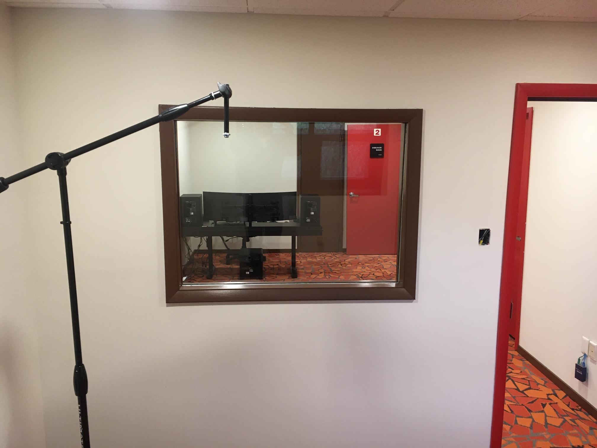 Studio Audio Booth