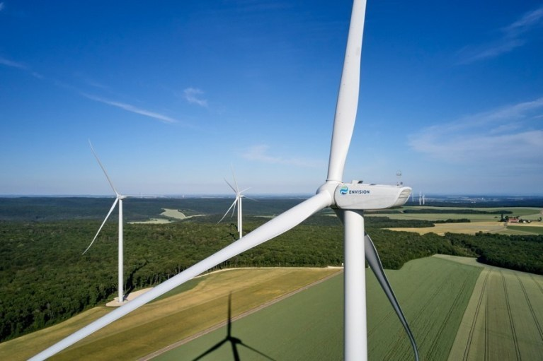 Envision Commissions 40 MW Wind Farm in France