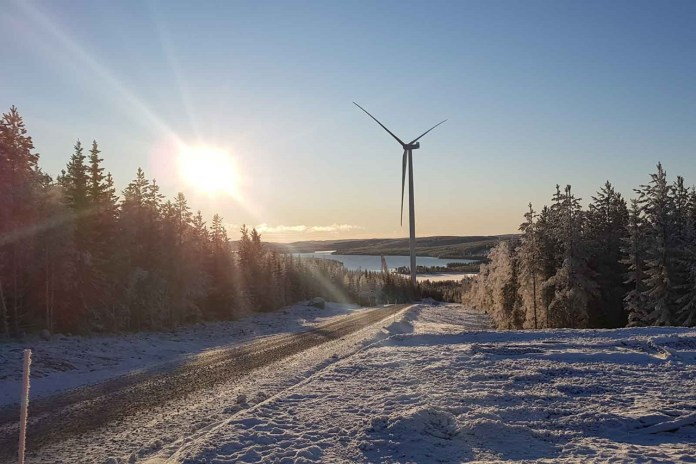 Start Of Power Production At Nysäter Onshore Wind Farm In Sweden