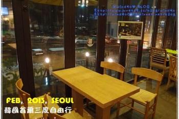 ∥韓國首爾∥ 江南區食記:Mango Six(島山店)- 韓劇《紳士的品格》景點:大叔們最常聚會地點&徐伊秀的玻璃之吻