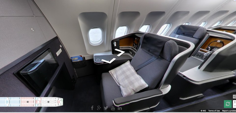 SAS Business Class Mini Post 2 Best Seat Windbag Miles