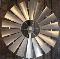 galvanized-1 - Windmill Ceiling Fans