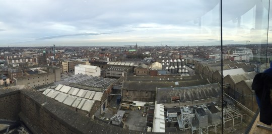 View from the gravity bar