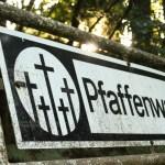 Hinweisschild: Pfaffenwald
