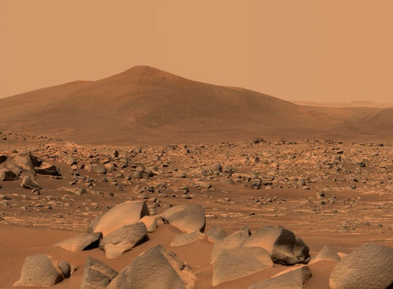 NASA's Perseverance rover on Mars has found some mysterious rocks (photos), ,