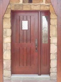 Wood Doors, Custom Entrance Wood Doors-Installation In ...