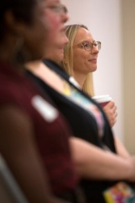 Sara Propes is one of the eight students in Brenau University's inaugural occupational therapy doctoral program.