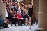 The Atlanta Ballet Company performed before the Governor's Awards for the Arts and Humanities ceremony at the Georgia Capitol.