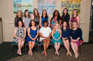 Women's College class of 2005 who celebrated their 10th reunion during the 2015 Alumnae Reunion Weekend.