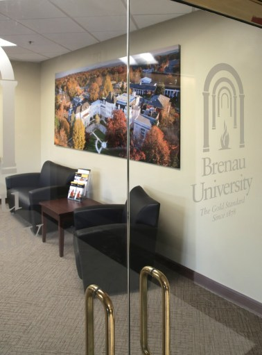 Interiors of 6622 Southpoint Drive South, the home of Brenau University's new Jacksonville, Florida, campus. (Bob Self/For Brenau University)