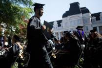 Gabiel Lopez receives his Masters in Business Administration degree during the Brenau University Undergraduate and Graduate Commencement on Saturday, May 7, 2016, in Gainesville, Ga. (AJ Reynolds/Brenau University)