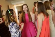 Alpha Delta Pi collegiate Cassidy Buck enjoy time with alumnae during the 2017 Alumnae Reunion Weekend at Brenau University, Saturday, April 08, 2017. (Photo/ John Roark for Brenau University)