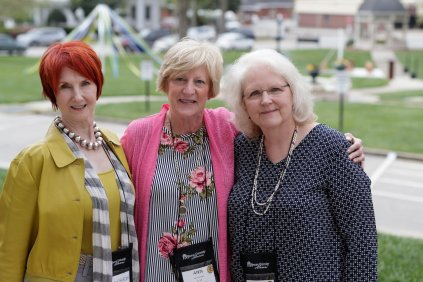 Sissy Gordon, Ann Lucas and Sadie Anne Forney. (AJ Reynolds/Brenau University)
