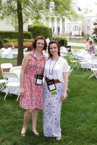Eliza Thornton and Jessi Barker Shrout (AJ Reynolds/Brenau University)