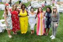 Didi Cassell, Alexandria Brock, Ariana Snowden, Corrinna Redford, Cassidy Collier, Darnisha Coverson and Jasmine Brewster. (AJ Reynolds/Brenau University)