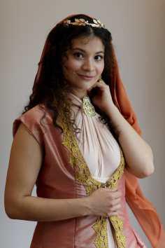 Brenau senior acting major Geanna Funes of Calhoun, Ga. as Helen of Troy from the GTA's 'The Odyssey.'