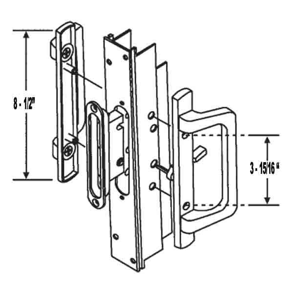 Sliding Door Parts: Pgt Sliding Door Parts