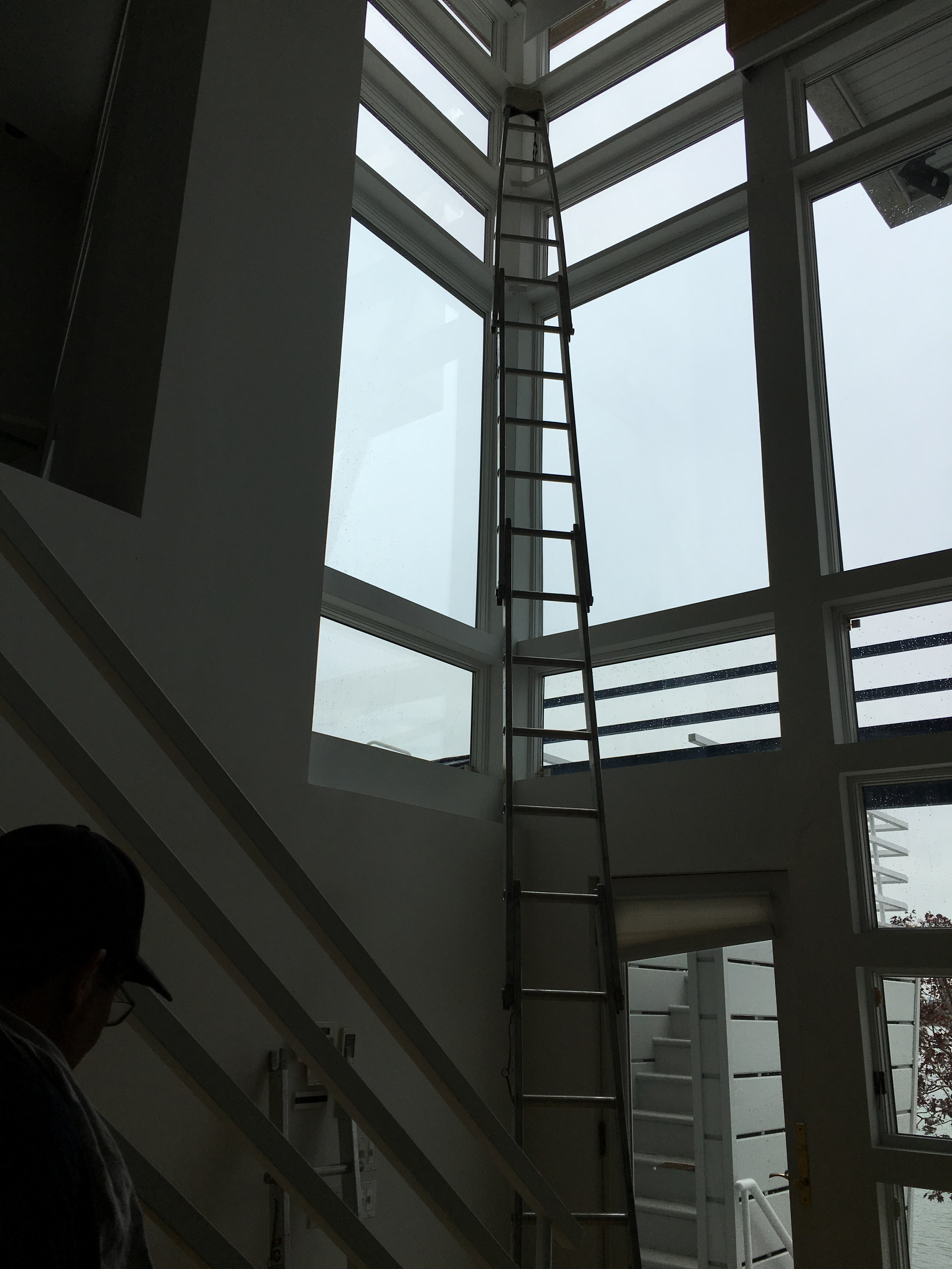 Sectional ladders  King  Commercial  Window