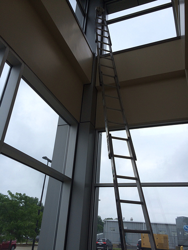 Sectional Ladder  Conversation  Window Cleaning Resource