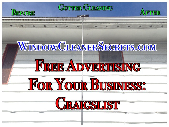 how to advertise a cleaning business