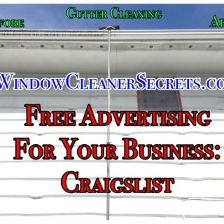 advertising your business craigslist