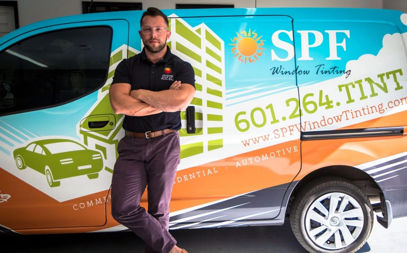 Patric Fransko Interviews Ty Sullivan from SPF Window Tinting - Window Film Pros Industry Podcast